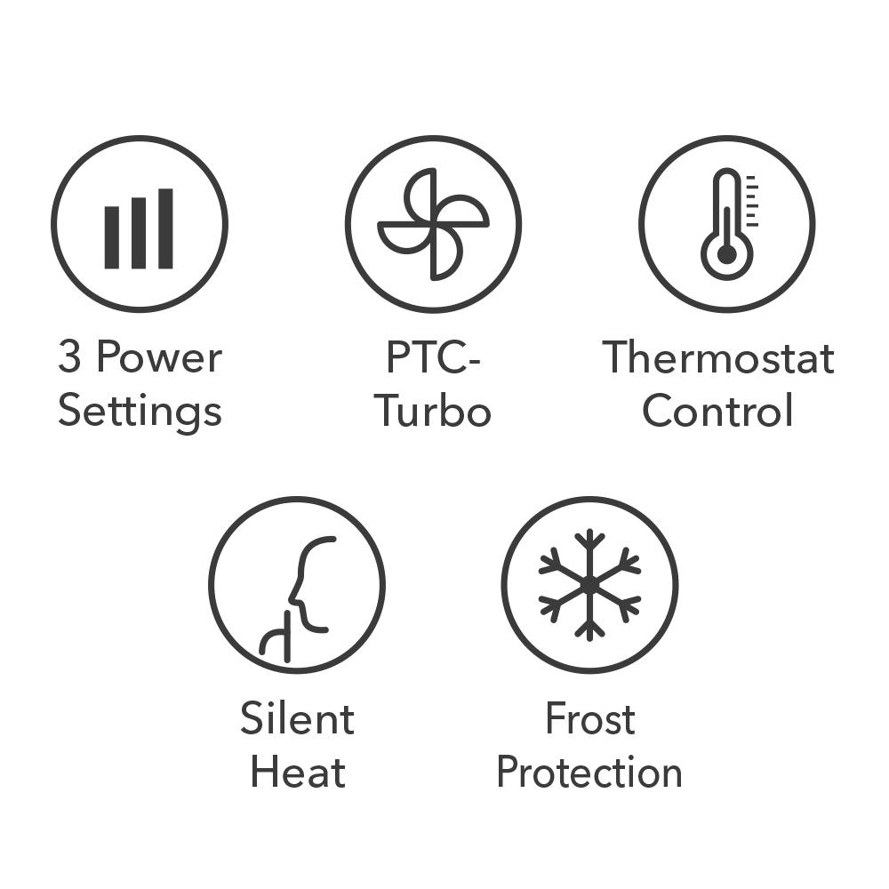 Масляные радиаторы TRH 22 E / TRH 23 E - особенности